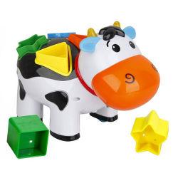 Интеллектуальной игрушкой B/O коровы кирпича игрушек (H4646015)