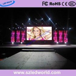 P3.91 & P4.81 LED intérieure de la location d'affichage vidéo écran mural pour l'étape de voitures