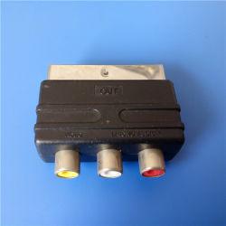 Teiler - heraus Type 21 Pins zu 3RCA Mini Scart (SP-017)