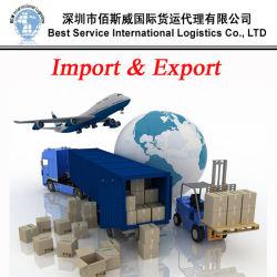 Importador de China, la Exportación e Importación (servicio de transporte aéreo, express, el transporte marítimo)