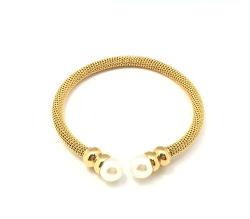 Мода Pearl ювелирных украшений из нержавеющей стали браслет