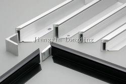 Perfil de extrusão de alumínio para a energia solar e da estrutura de suporte dos raios solares