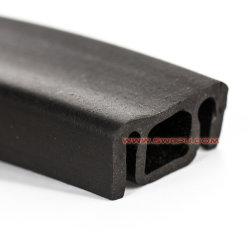Esponja de silicone de alta qualidade de extrusão de borracha faixa de vedação da porta