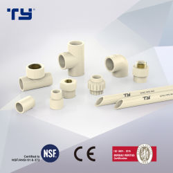 (Пвх/ CPVC/пластик) Pn16 CPVC давления фитинги трубы с DIN/ASTM Standard