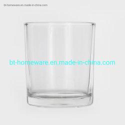 Atacado de boa qualidade 4 Oz copo transparente copo para Vela com tampa de bambu de vedação