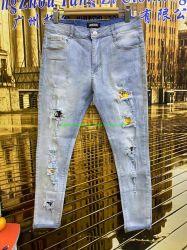 Novo vestuário de homem maduro simples Limpar Jeans vestuário de homem bom testemunho de cor azul de alta qualidade Venda Superior (Ripped Jeans Jeans atacado homens calça jeans Slim Fit Jeans Homem