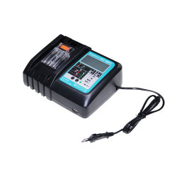 precio de fábrica de 14,4 V de calidad superior a 18V para Herramientas Eléctricas Makita Makita BL1830 cargador de batería para BL1840 Fast Li-ion 18V CARGADOR DE TALADRO INALÁMBRICO