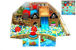 De mini BinnenSpeelplaats van de Stijl van de Piraat, Pool van de Bal van Kinderen de Oceaan