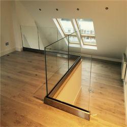 U-Profilstäbeglasgeländer mit lamellierten ausgeglichenes Glas-Panels
