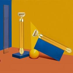 Оптовая торговля вибрации на заводе массажер для лица Япония и Корея 24K Gold Energy Jade Салон красоты бар для частоты пульса по уходу за кожей