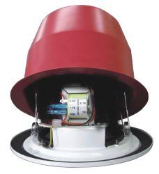 """A Honeywell 5 """" PT54 Certified 100V 6W Altifalante de tecto de metal com cúpula de metal"""