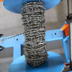 Macchina a filo spinato ad alta velocità personalizzata (singolo filamento e doppio ritorto)