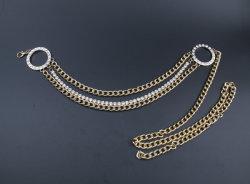 Accesorios de moda de la correa de cadena con diamante