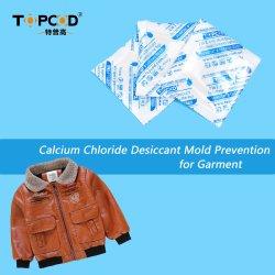Vente chaude Superdry sachets dessiccants de chlorure de calcium pour les vêtements/Vêtements