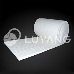 Four Luyangwool 1260/1400 Fibre d'isolation thermique Couverture/-160/1281430/64 kg 25/50mm 2300f/2600f