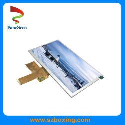 LVDS インタフェースと 500nit 輝度を備えた 7 インチ TFT LCD ディスプレイ 自動車ダッシュボードの場合