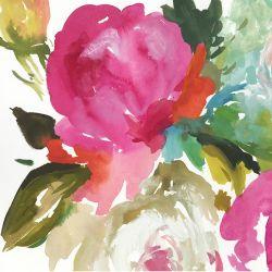 El arte de lienzo, el encanto de alegres flores pinturas. Imágenes de la pared para la decoración del hogar Ol-2007142tamaño 30x30 pulgadas