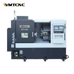 월간 딜 STL420 슬래트 베드 CNC 선반 기계와 선삭 밀링 센터
