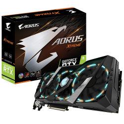 Gigabyte Aorus Nvidia Geforce 2080 Rtx Ti Xtreme 11G с 11ГБ видеопамяти GDDR6 352-битный интерфейс памяти графической платы