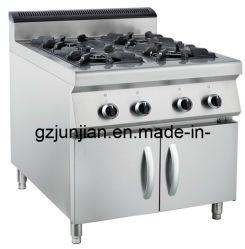 Stufa di gas industriale con uso elettrico GPL del forno o gas naturale con sicurezza del gas