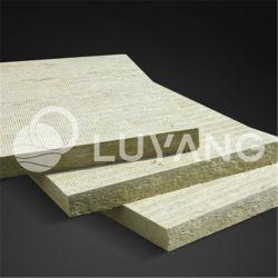 L'absorption acoustique de basalte Bstwool Luyang Isolation thermique barrière d'incendie du Conseil de laine de roche minérale