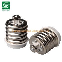 E40- E27 vis en plastique Shell ampoule de feu de la lampe adaptateur de prise