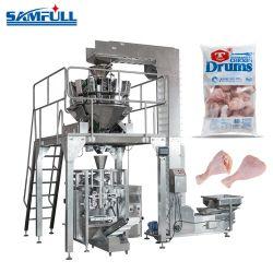 Caixa de 1kg 5 kg de produtos alimentares congelados máquina de embalagem para coxas de frango