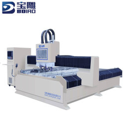 آلة الحجر الحجري Bd1630 CNC تستخدم على نطاق واسع في أسطوانة الحجر الكوارتز نظام تحديد الموضع لحشامة سطح الموازنة