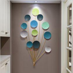 Planeta coloridos e Climder arte na parede do lado de ouro para aplicações interiores e decoração
