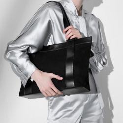 Tissu à armure sergé en cuir véritable Fashion Business Women sac à main