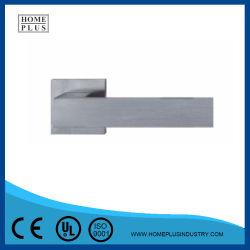 El diseño principal de la empuñadura de puerta de la palanca de bloqueo establecido de acero inoxidable para puerta de madera