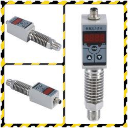 情報処理機能をもったリレー電子制御装置の圧力スイッチ表示器