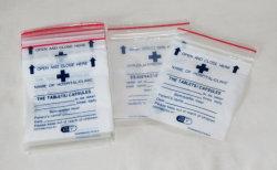 Usine de PEBD inscriptible médical refermable enveloppe de médicaments