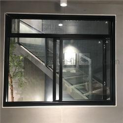 Balcón Patio, prueba de sonido moderno de vidrio con ventana corrediza de aluminio plegable y personalizados de aluminio color bronce de los Estados Unidos