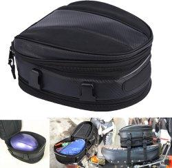 오토바이 뒷짐 방수 가방 오토바이 안장 등새들 백 오토바이 백팩 백방수 다기능 수하물 가방 확장 가능한 백팩 가방 PU 가죽