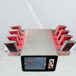 Macchina per la luce del corpo macchina per la dimagrazione laser Lipo Anti Cellulite Slimming Plus laser Lipo Pad per la rimozione del grasso con doppio strato di rimozione Macchina di bellezza per Salon
