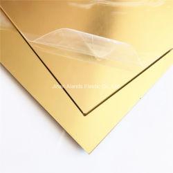 ورقة مرآة ألاندس البلاستيكية بالمرآة البلاستيكية بميتاكريليك بميتاكريليك بميتاكريلاتي