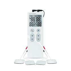 جهاز العلاج الكهربائي بالعشرات عالية الجودة مع 4 لاصقات إلكترود من أجل تخفيف الألم