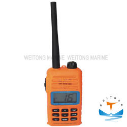 Deux voies Portable Explosion-Proof transceiver radio VHF marine/ un talkie-walkie/ radiotéléphone