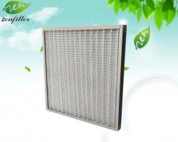 Middelefficiënt luchtfilter voor paneel Fine medium klasse synthetische vezel Voor industriële en cleanroom