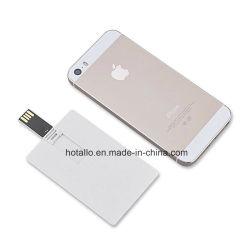 Пустой подарок для продвижения кредитных карт с логотипом пластиковые карты памяти USB Flash накопитель с свободной печати