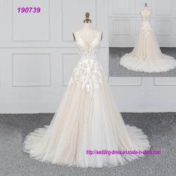 Bruids Kleding voor de vrij Praktische Kleding van de Lente van Bruiden en van het Huwelijk van de Zomer