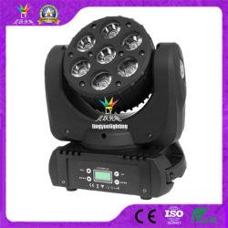 段階7X10W RGBW 4in1小型LEDの移動ヘッドビームライト