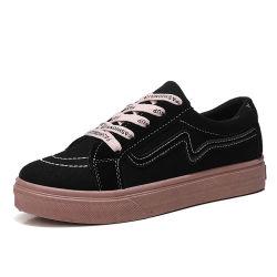Barato al por mayor zapatillas damas zapatos casuales de goma, Diseñador de las mujeres No Logo zapatillas, Zapatillas casual zapatos planos muy popular para la Mujer