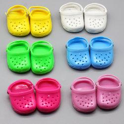 Американская кукла Бич тапочки конфеты цвет отверстие обувь 18 дюйма кукла дышащий сандалии