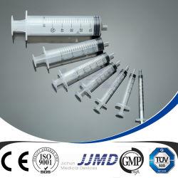 3 Spuit van de Veiligheid van de Misstap van Luer van het deel de Beschikbare Plastic met Naald
