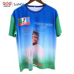 Дешевые мужские обычная президент футболка с логотипом питания избирательной кампании рекламные 3D