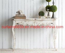 غرفة نوم خزانة [فرنش] أسلوب أثر قديم بيضاء ينحت أثاث لازم لأنّ [بدسد تبل] خشبيّة أثاث لازم خزانة /Sofa /Table /Chair بينيّة خارجيّة غلّة كرم أثاث لازم حديثة