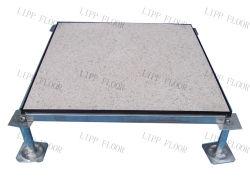 十分の610*610mmのデータセンタビニールの床タイルが付いているすべての鋼鉄帯電防止上げられたアクセスフロアーリング