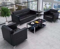 Made in China oficina de diseños interiores Sofá Artificial Violino sofá de cuero (FECE375)